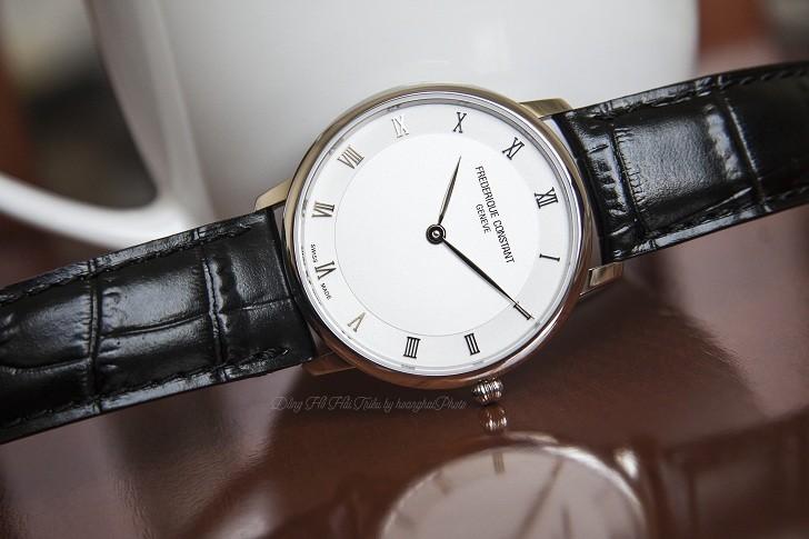 Đồng hồ Frederique Constant FC-200RS5S36 thiết kế siêu mỏng - Ảnh 3
