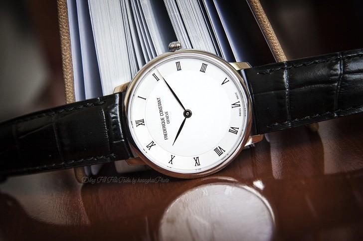 Đồng hồ Frederique Constant FC-200RS5S36 thiết kế siêu mỏng - Ảnh 1