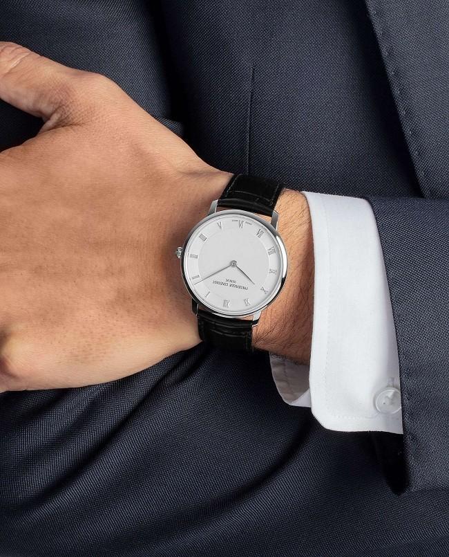 Đồng hồ Frederique Constant FC-200RS5S36 thiết kế siêu mỏng - Ảnh 6