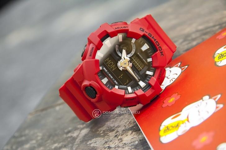 Đồng hồ G-Shock GA-700-4ADR giá rẻ và thay pin miễn phí - Ảnh 1