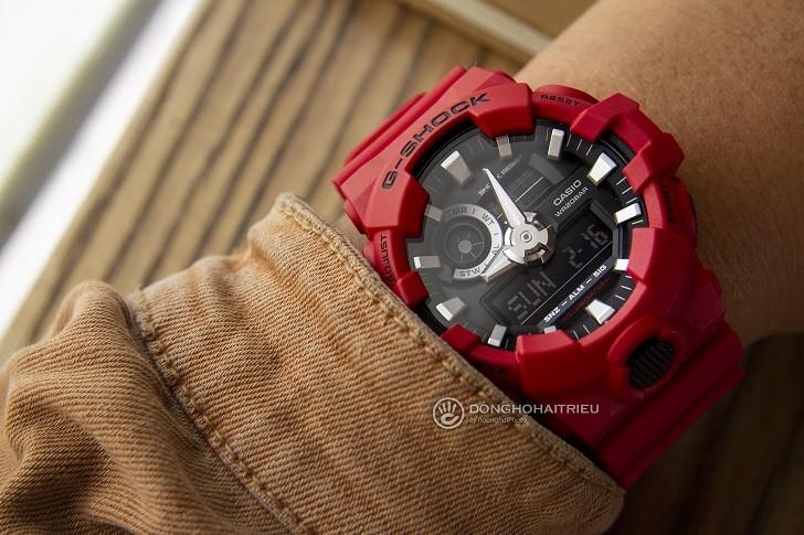 Đồng hồ G-Shock GA-700-4ADR giá rẻ và thay pin miễn phí - Ảnh 2