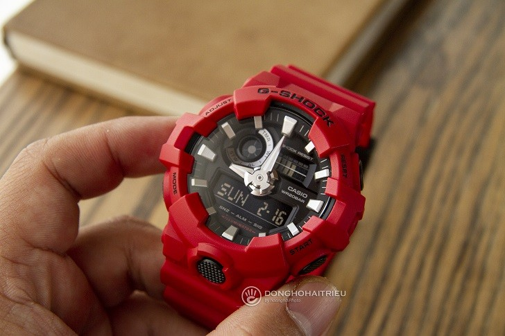 Đồng hồ G-Shock GA-700-4ADR giá rẻ và thay pin miễn phí - Ảnh 3