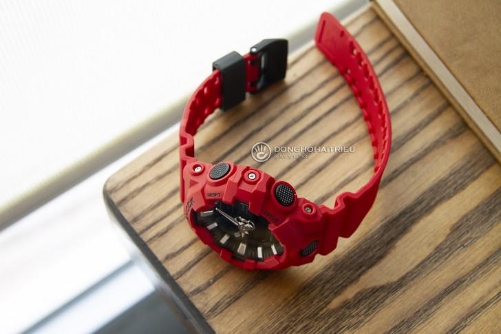 Đồng hồ G-Shock GA-700-4ADR giá rẻ và thay pin miễn phí - Ảnh 5