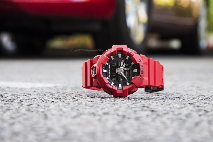 Đồng hồ G-Shock GA-700-4ADR giá rẻ và thay pin miễn phí - Ảnh 7