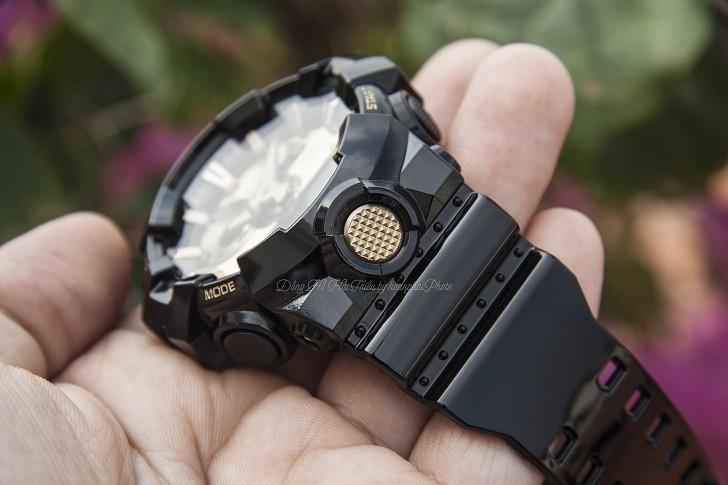 Đồng hồ G-Shock GA-710GB-1ADR giá rẻ, thay pin miễn phí - Ảnh 2