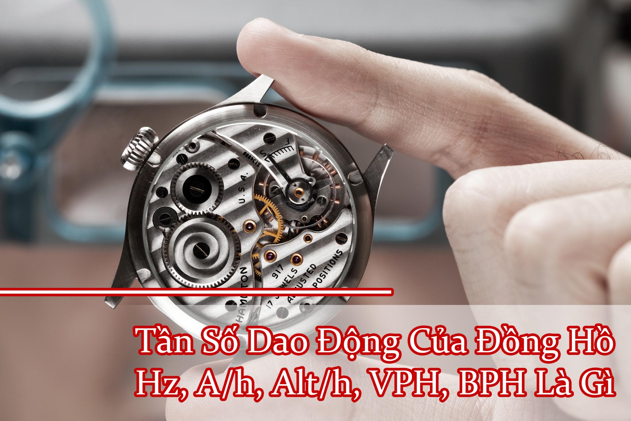 Giai Nghia Tan So Dao Dong Cua Dong Ho, Hz, A/h, Alt/h, VPH, BPH La Gi