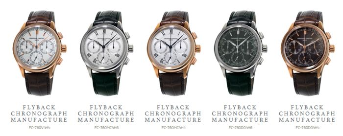 Giới Thiệu Đồng Hồ Frederique Constant Flyback Chronograph Manufacture