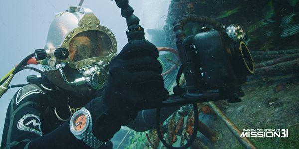 Khám Phá: Màu Đồng Hồ Sẽ Trông Như Thế Nào Khi Ở Dưới Nước Doxa Sub Mission 31