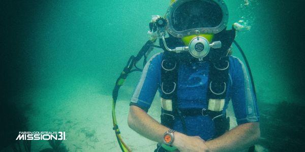 Khám Phá: Màu Đồng Hồ Sẽ Trông Như Thế Nào Khi Ở Dưới Nước Cam