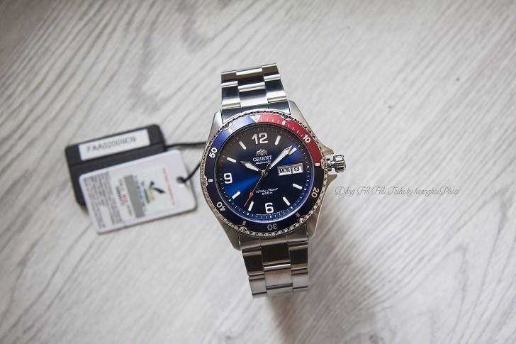 Đồng hồ Orient FAA02009D9 automatic, trữ cót hơn 40 giờ - Ảnh 1