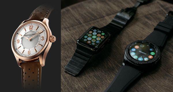 So Sánh Đồng Hồ Thông Minh Frederique Constant FC-282AS5B4 Với Apple Watch 1
