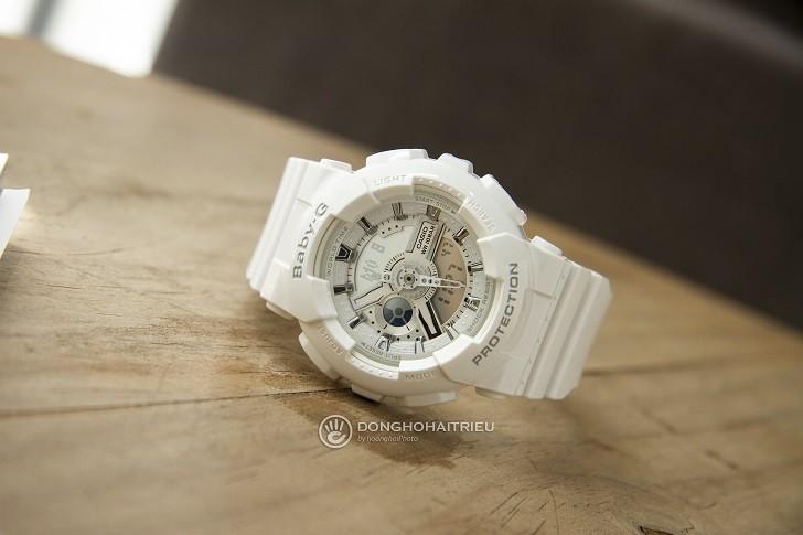 Đồng hồ nữ Baby BA-110-7A3DR thay pin trọn đời miễn phí - Ảnh 1