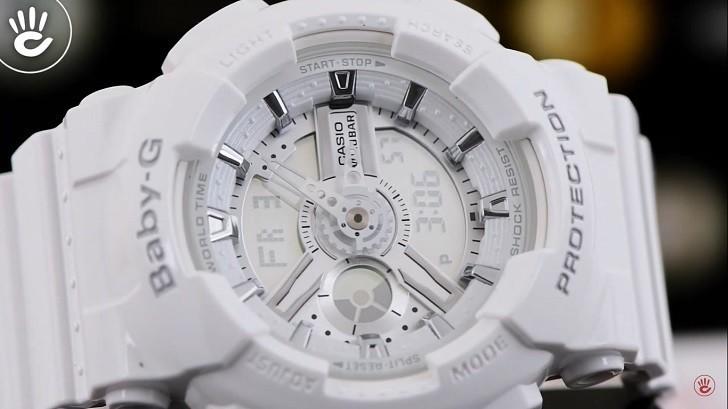 Đồng hồ nữ Baby BA-110-7A3DR thay pin trọn đời miễn phí - Ảnh 3
