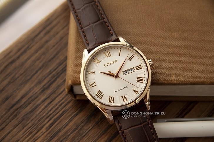 Đồng hồ Citizen NH8363-14A automatic, trữ cót đến 40 giờ - Ảnh 1