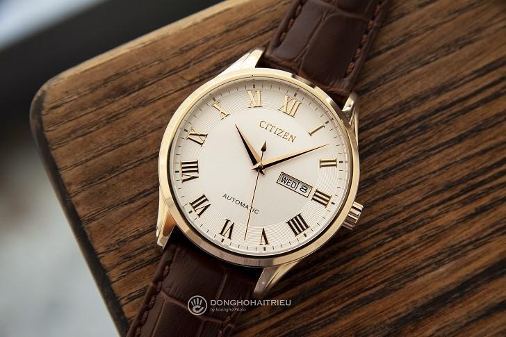 Đồng hồ Citizen NH8363-14A automatic, trữ cót đến 40 giờ - Ảnh 2