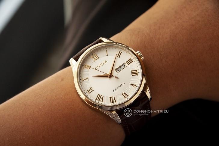 Đồng hồ Citizen NH8363-14A automatic, trữ cót đến 40 giờ - Ảnh 4