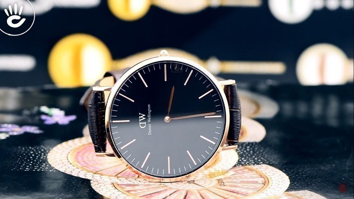 Đồng hồ nữ Daniel Wellington DW00100140 thay pin miễn phí - Ảnh 1