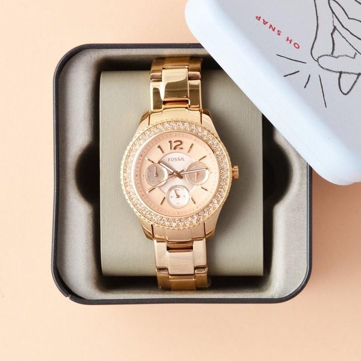 Đồng hồ Fossil ES3590 giá rẻ, thay pin miễn phí trọn đời - Ảnh 5