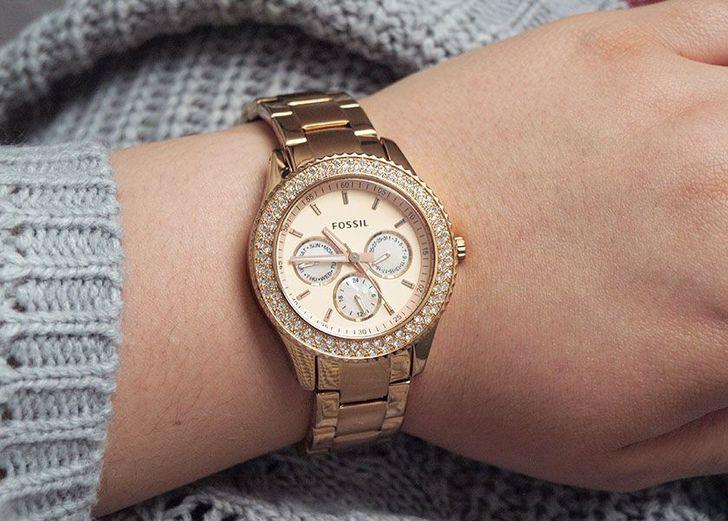 Đồng hồ Fossil ES3590 giá rẻ, thay pin miễn phí trọn đời - Ảnh 3