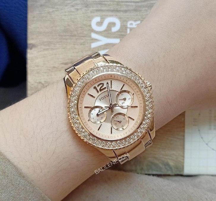 Đồng hồ Fossil ES3590 giá rẻ, thay pin miễn phí trọn đời - Ảnh 1