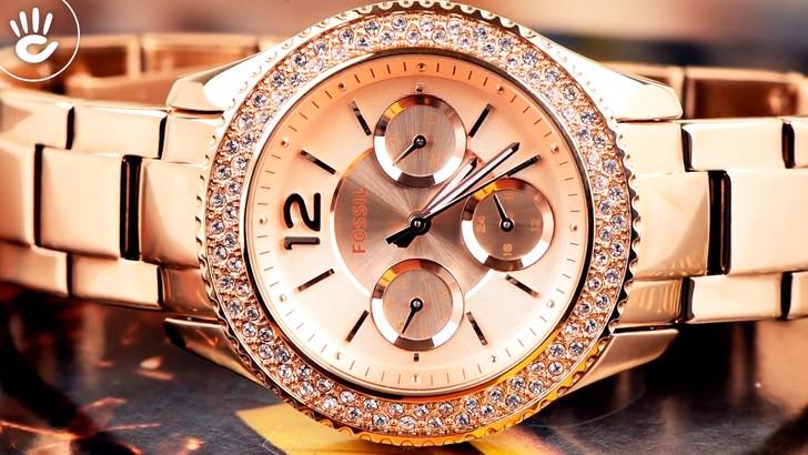 Đồng hồ Fossil ES3590 giá rẻ, thay pin miễn phí trọn đời - Ảnh 7