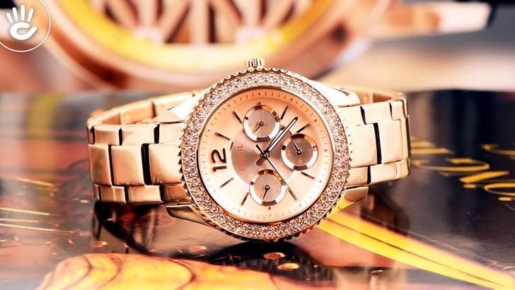 Đồng hồ Fossil ES3590 giá rẻ, thay pin miễn phí trọn đời - Ảnh 2