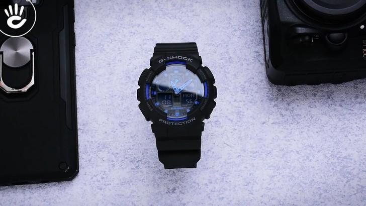 Đồng hồ G-Shock GA-100-1A2DR giá tốt, free thay pin trọn đời - Ảnh 8