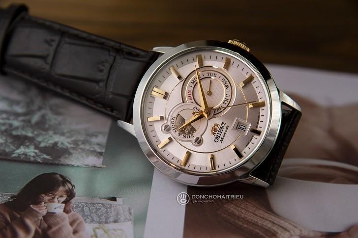 Đồng hồ Orient FET0P004W0 automatic, trữ cót lên đến 40 giờ - Ảnh 5