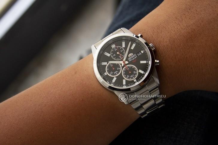 Đồng hồ Orient FKU00002B0 trang bị tính năng Chronograph - Ảnh 3