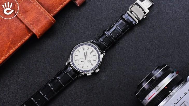 Đồng hồ Orient SFA06003Y0 Automatic, trữ cót đến 40 giờ - Ảnh 1