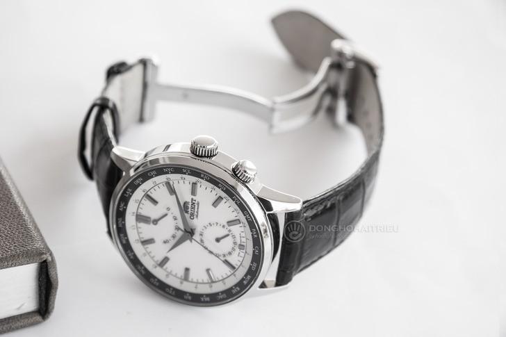 Đồng hồ Orient SFA06003Y0 Automatic, trữ cót đến 40 giờ - Ảnh 6