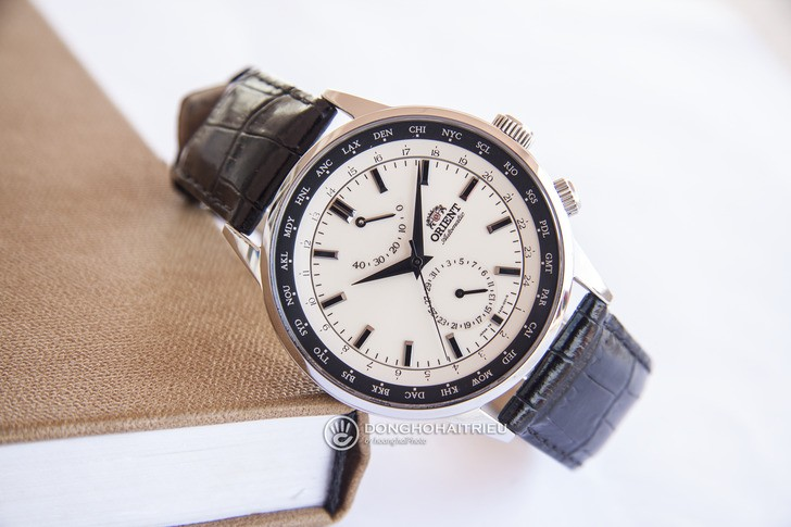 Đồng hồ Orient SFA06003Y0 Automatic, trữ cót đến 40 giờ - Ảnh 7