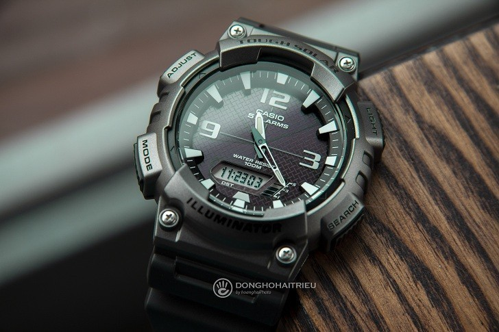 Review Đồng Hồ Casio AQ-S810W-1A4VDF | Tough Solar | 10ATM - Ảnh: 5