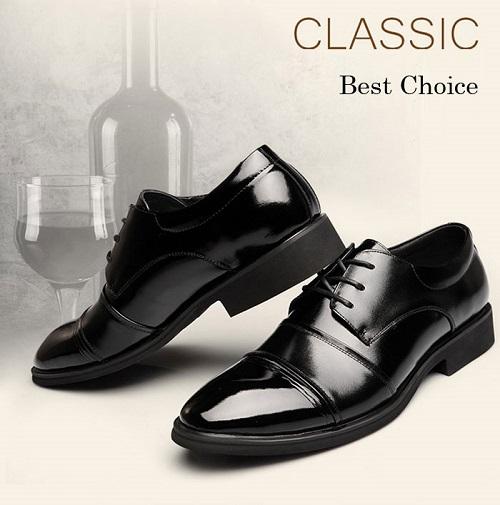 các kiểu giày da công sở nam 1