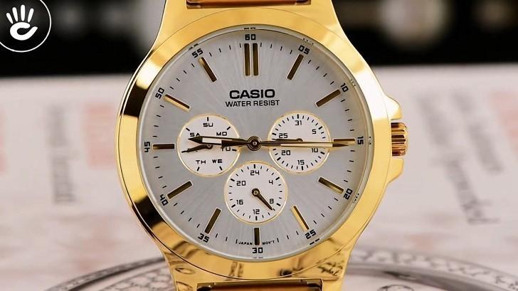 Đồng hồ Casio LTP-V300G-7AUDF thay pin miễn phí trọn đời - Ảnh 4