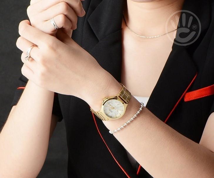 Đồng hồ Casio LTP-V300G-7AUDF thay pin miễn phí trọn đời - Ảnh 8