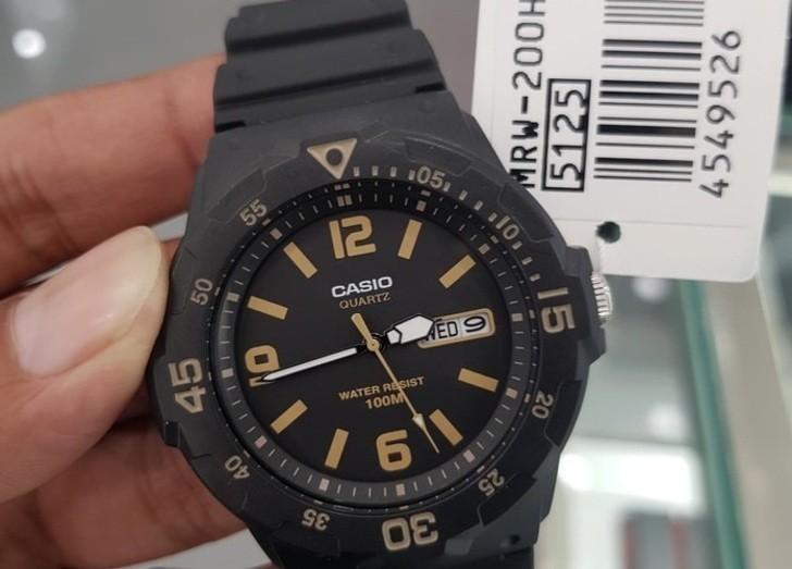 Đồng hồ Casio MRW-200H-1B3VDF giá rẻ, thay pin miễn phí - Ảnh 2