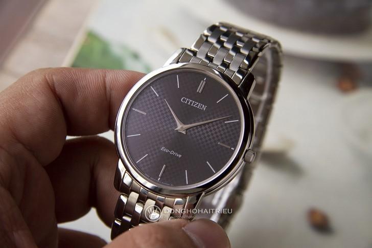 Đồng hồ Citizen AR1130-81H: Thiết kế trẻ trung, không lo hết pin - Ảnh: 3