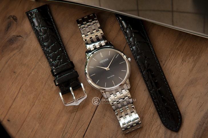 Đồng hồ Citizen AR1130-81H: Thiết kế trẻ trung, không lo hết pin - Ảnh: 4