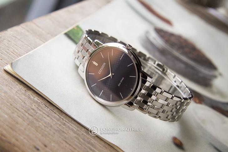 Đồng hồ Citizen AR1130-81H: Thiết kế trẻ trung, không lo hết pin - Ảnh: 5