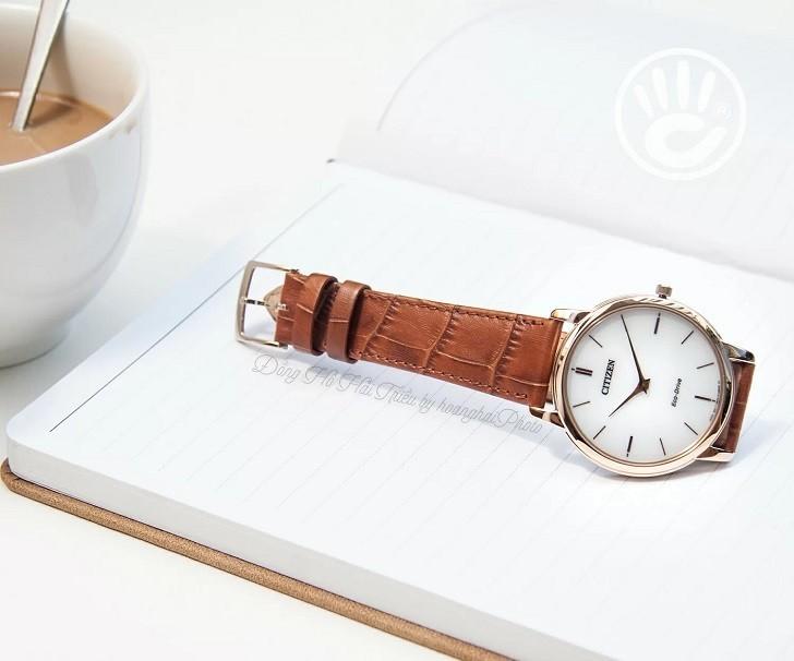 Đồng hồ nam Citizen AR1133-15A bộ máy năng lượng ánh sáng - Ảnh 1