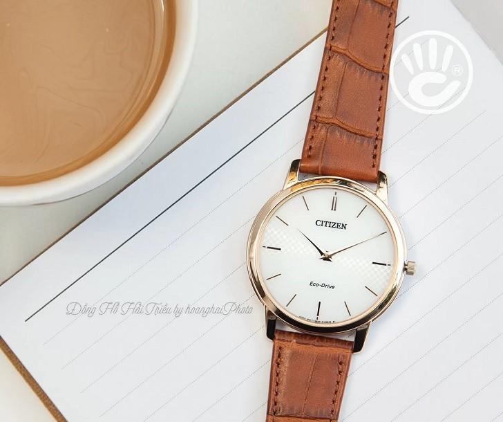 Đồng hồ nam Citizen AR1133-15A bộ máy năng lượng ánh sáng - Ảnh 3