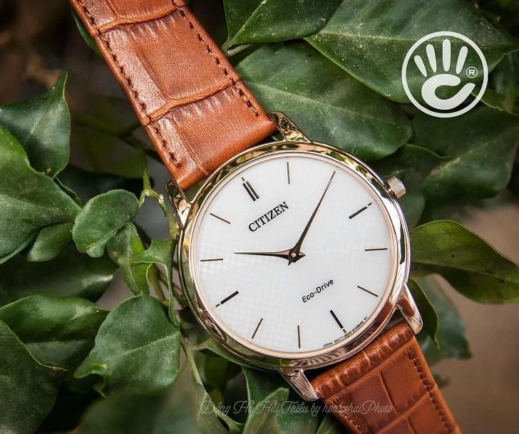 Đồng hồ nam Citizen AR1133-15A bộ máy năng lượng ánh sáng - Ảnh 6