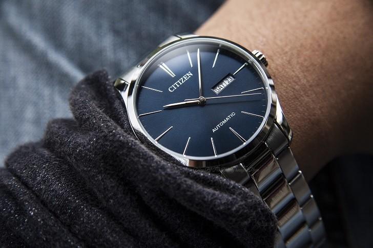 Đồng hồ Citizen NH8350-83L automatic, trữ cót trên 40 giờ - Ảnh 4