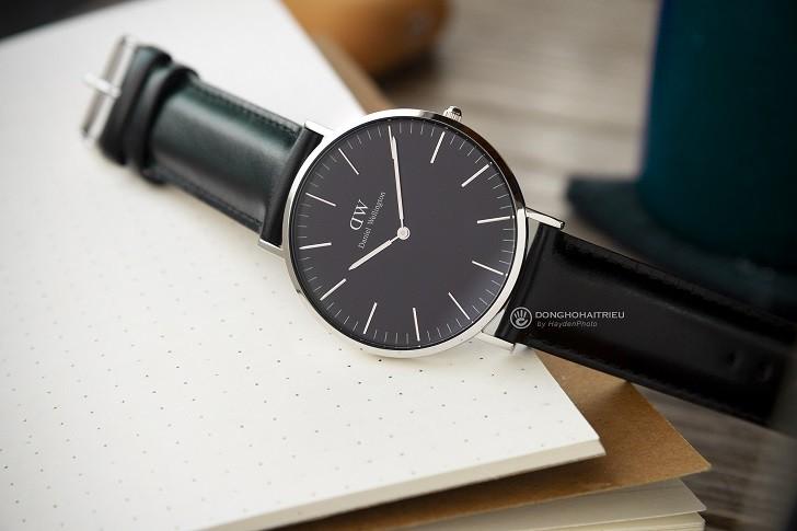 Đồng hồ nam Daniel Wellington DW00100133 siêu mỏng, dây da - Ảnh 2