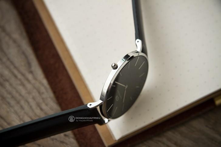 Đồng hồ nam Daniel Wellington DW00100133 siêu mỏng, dây da - Ảnh 5