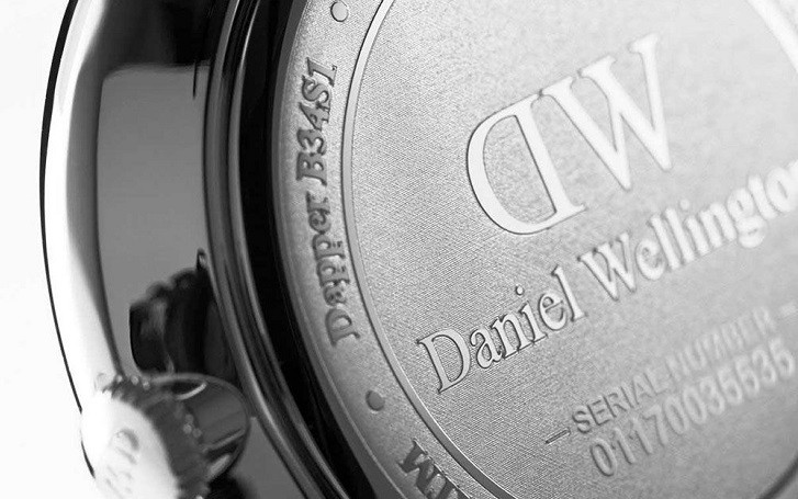 Đồng hồ nam Daniel Wellington DW00100133 siêu mỏng, dây da - Ảnh 6