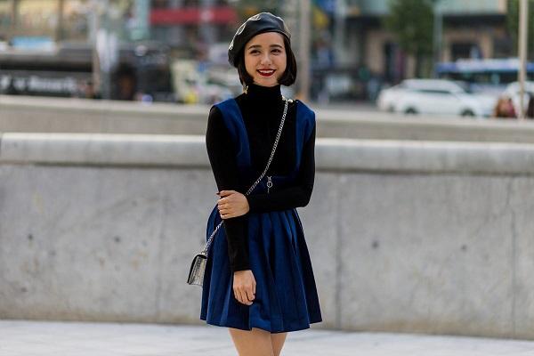 Bộ váy công sở Hàn Quốc may theo kiểu âu phục 20