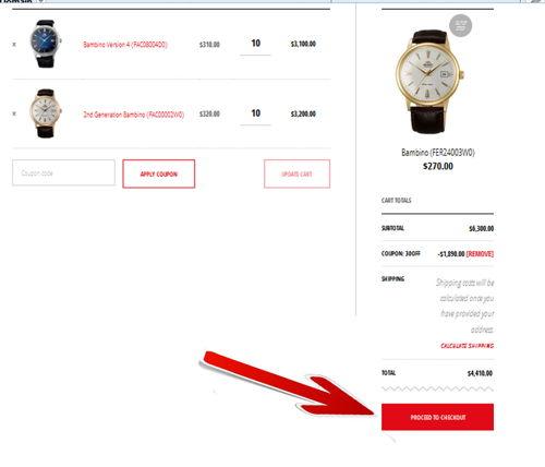 Luôn Có Orient Coupon Code Giảm Giá 30% Đồng Hồ Orient Tại Mỹ, Bạn Biết Chưa Tổng Tiền