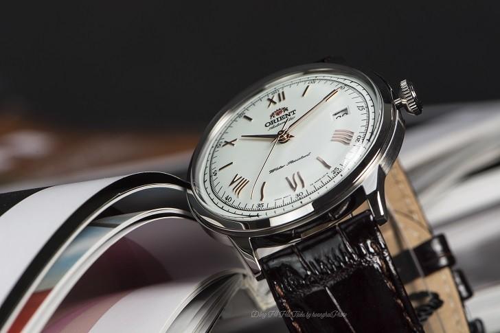 Đồng hồ Orient FAC00008W0 automatic, trữ cót hơn 40 giờ - Ảnh 4
